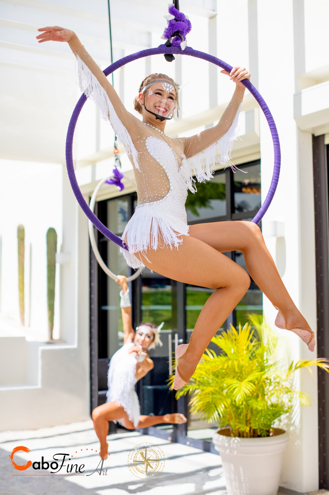 cabo fine entertainment aerial dancers